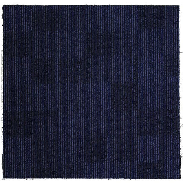 carpet Tiles Cube Blue